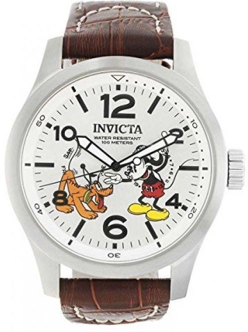 【入手困難】 ★限定モデル★ INVICTA × Mickey 腕時計 ディズニー ミッキー プルート