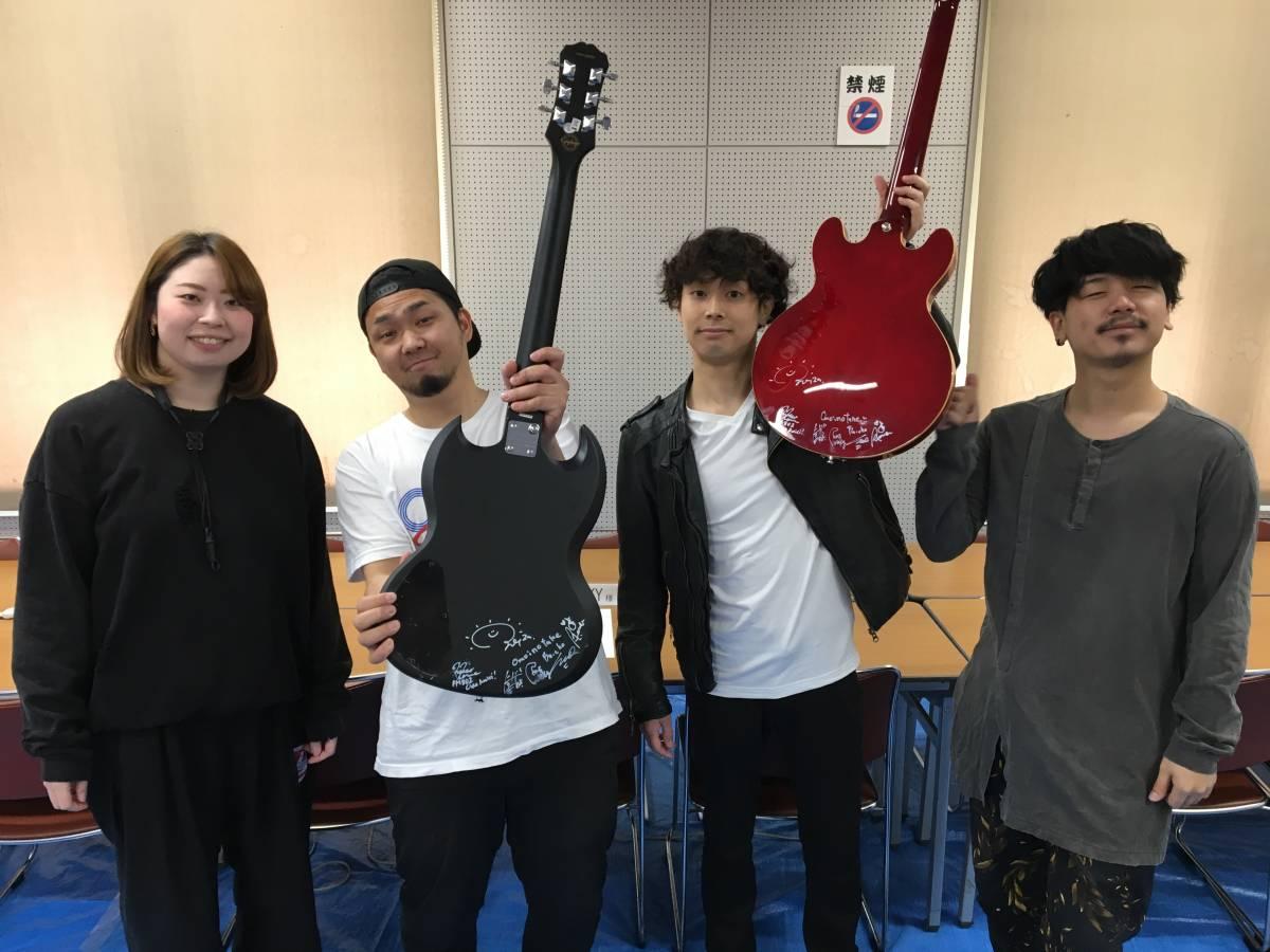 ROCKS FORCHILE 出演者全員のサイン入りギター(藤巻亮太、THE COLLECTORS、ホリエアツシ、GLIM SPANKY、LEGO BIG MORLなどのサイン入り)_画像9