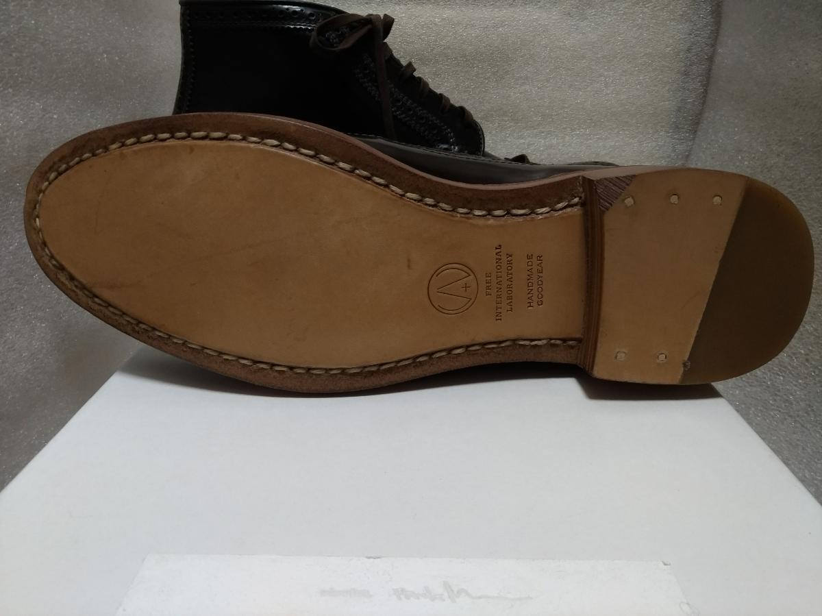 visvim patrician mid wt-folk 靴 ウィングチップ 27.5_画像8