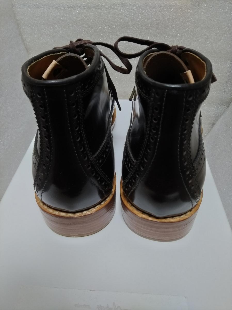 visvim patrician mid wt-folk 靴 ウィングチップ 27.5_画像6
