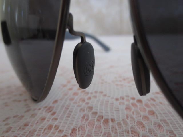 送料無料 グッチ GUCCI  最高級 サングラス 偏光レンズ ティアドロップ GG 2246/S 4VQTD POLARIZED ブラック gray 新品本物_画像9