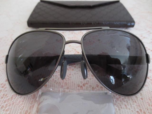 送料無料 グッチ GUCCI  最高級 サングラス 偏光レンズ ティアドロップ GG 2246/S 4VQTD POLARIZED ブラック gray 新品本物_画像1