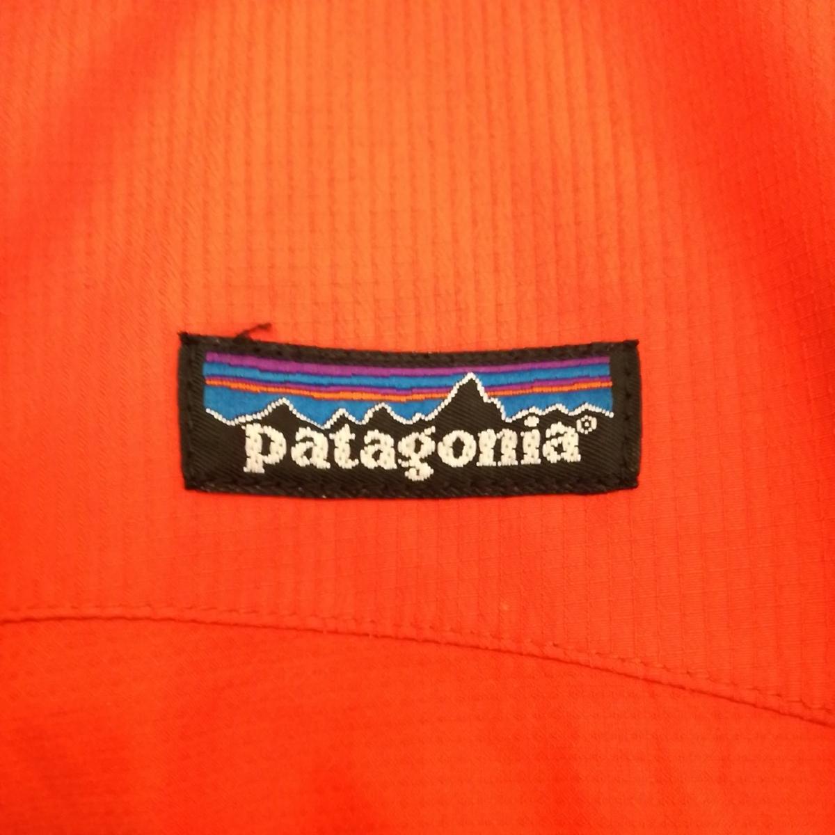 激レア希少2001年モデル!パタゴニアpatagonia イーサージャケット 83405 ゴアテックス 最高峰アルパイン マウンテンパーカー オレンジM_画像5