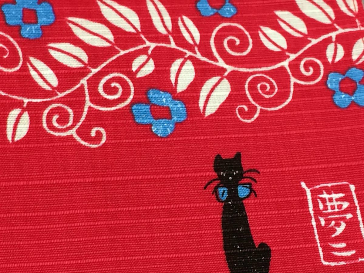 新作『竹久夢二』デザインの小風呂敷!飾りにも使えます。外国の方への贈り物にも(ねこ)_画像2