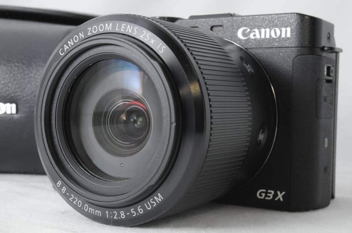 ★新品級★ CANON キヤノン PowerShot G3 X 付属品多数 Wi-Fi搭載 ★常時 防湿庫保管 状態が良いものをお探しの方にオススメです!