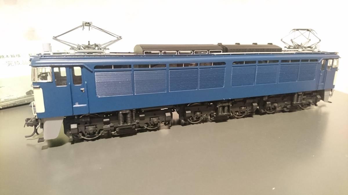 エンドウ EF63 2次形 真鍮モデル 青 完成品_画像6