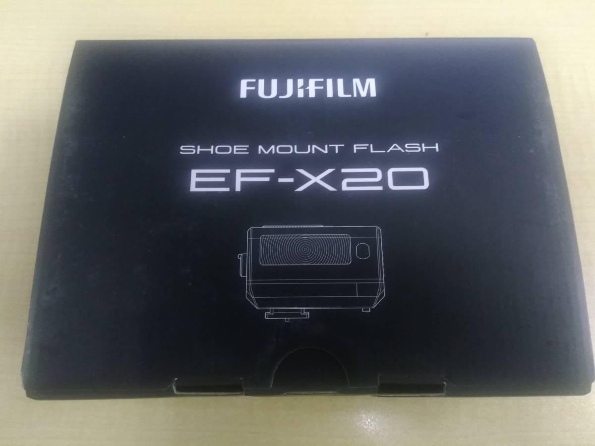 FUJIFILM フラッシュ クリップオンフラッシュ EF-X20 開封済み 新品