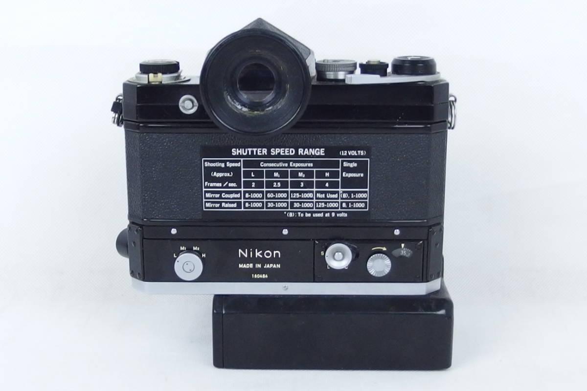 ニコン NIKON F モータードライブ付 NIKOR-H Auto 1:1.8 f=85㎜/NIKOR-N Auto 1:2.8 f=24㎜_画像3