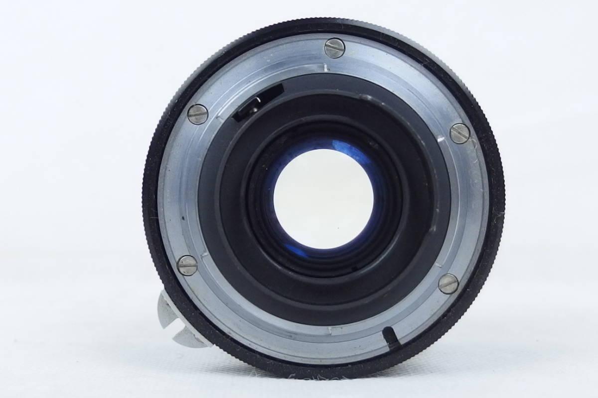 ニコン NIKON F モータードライブ付 NIKOR-H Auto 1:1.8 f=85㎜/NIKOR-N Auto 1:2.8 f=24㎜_画像10
