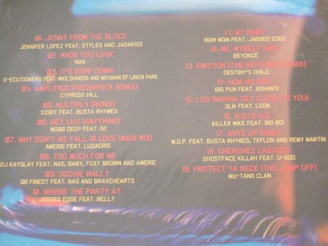CDコンピ Blazin' HIP HOP,R&B ジェニファーロペス NAS サイプレスヒル モブディーMOBB DEEP feat. 112 XZIBIT WU-TANG CLAN ビヨンセ