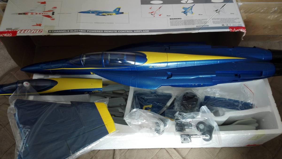 exceed(ARC)製 F18 ホーネット ARFキット サーボレスリトラクト付き f15 f14 f4 f86 f16 f22 f35