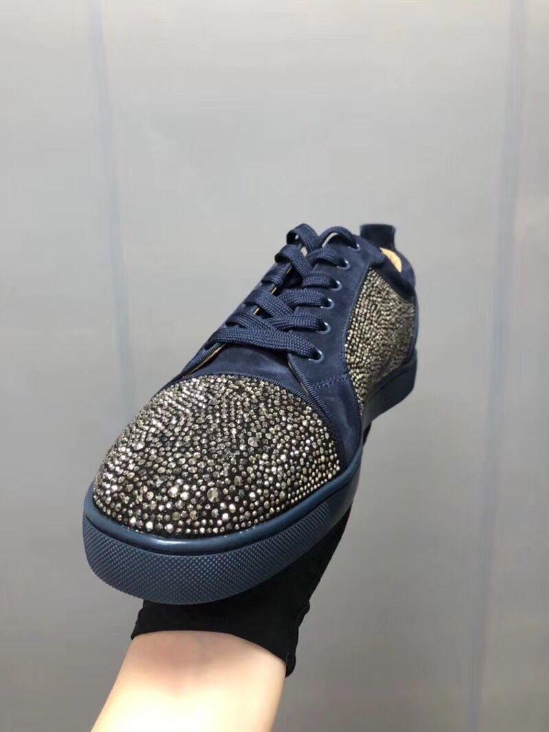 распродажа  новый товар   высокое качество  гарантия   мужской  обувь    натуральная кожа  кроссовки    замша  кожа ... тон   включено   военно-морской флот  29.5cm