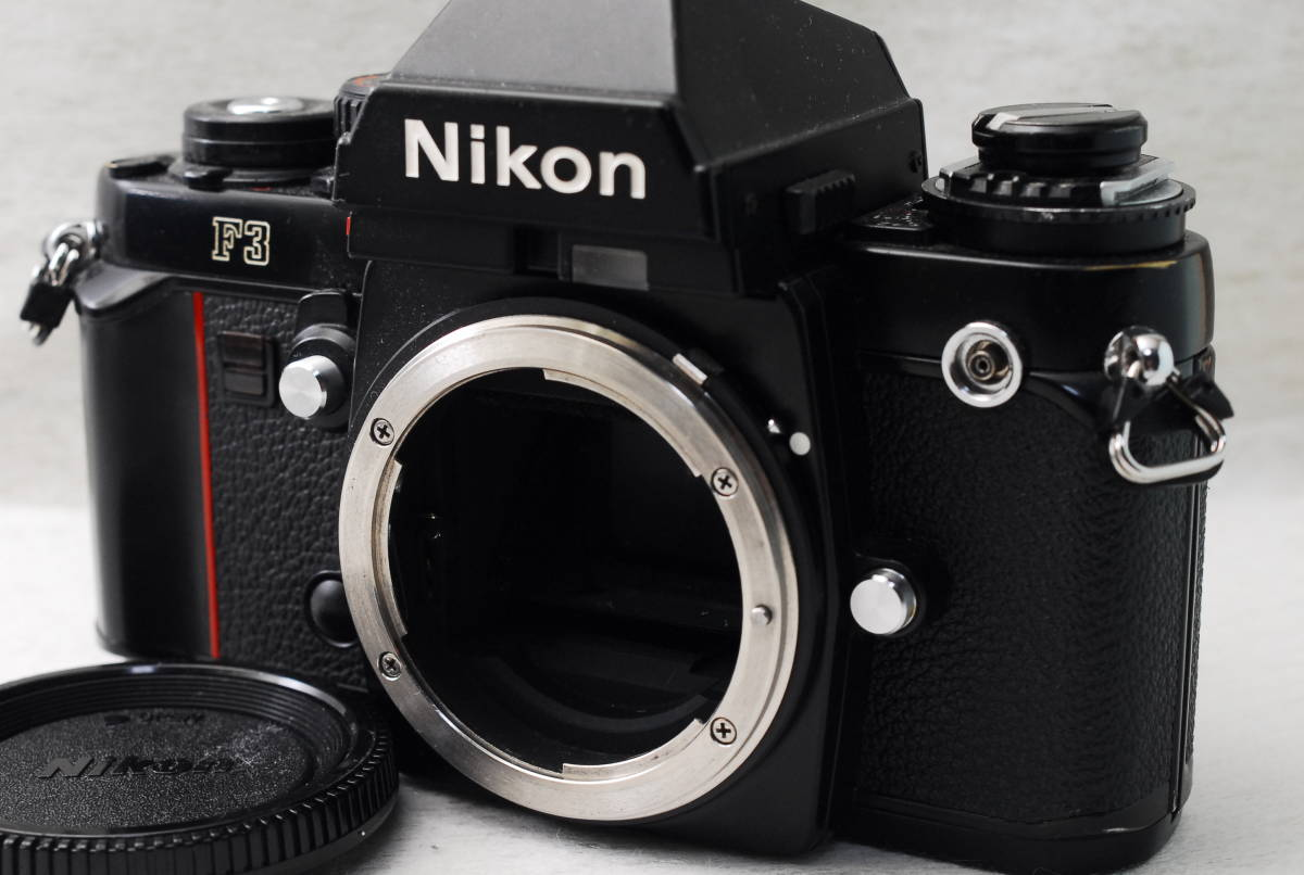 実用品 名機 ニコン Nikon F3 ボディ アイレベル MF-14 SLR フィルム一眼 MF マニュアルフォーカス 返金保証