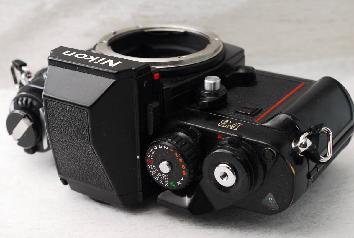 実用品 名機 ニコン Nikon F3 ボディ アイレベル MF-14 SLR フィルム一眼 MF マニュアルフォーカス 返金保証_画像2