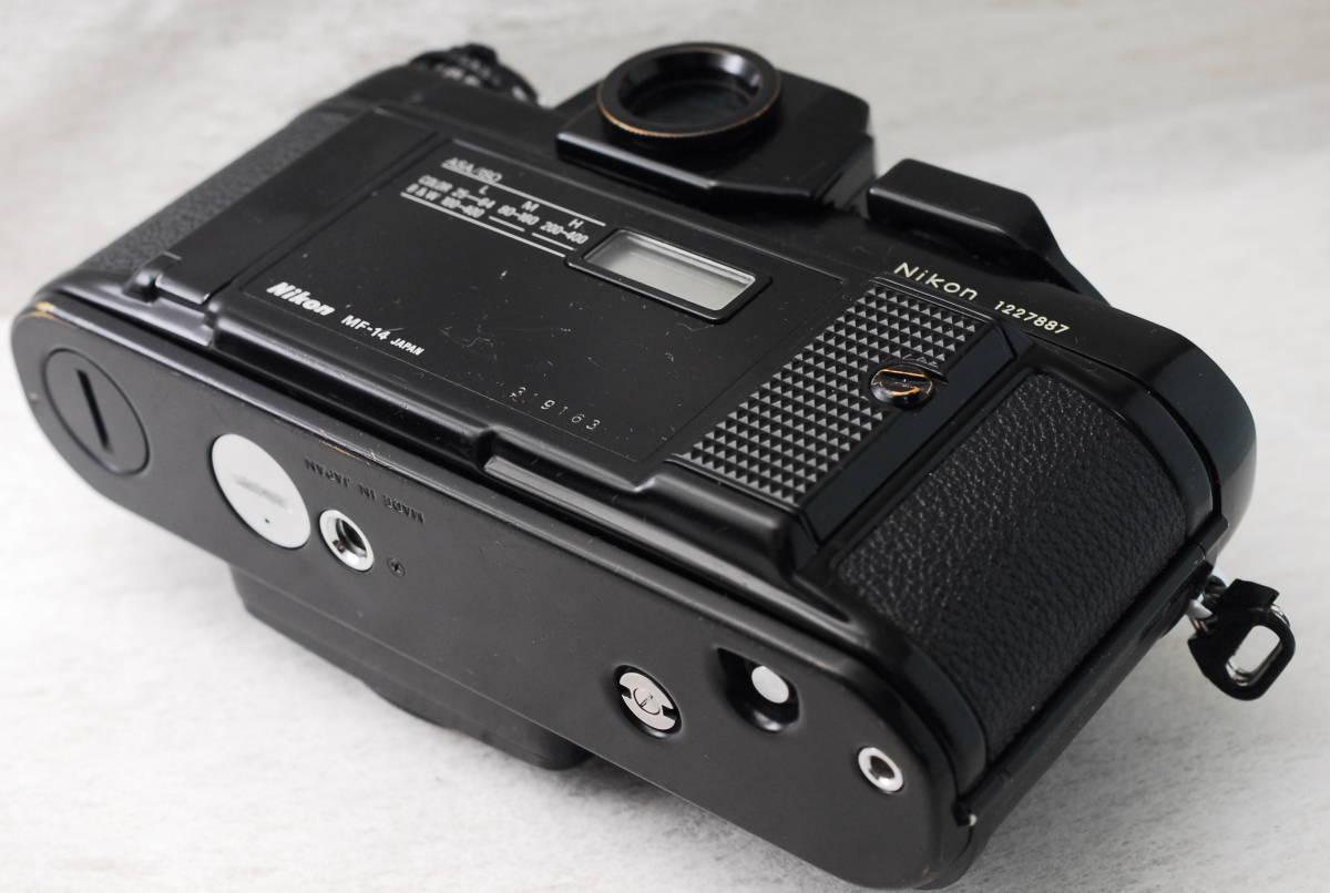 実用品 名機 ニコン Nikon F3 ボディ アイレベル MF-14 SLR フィルム一眼 MF マニュアルフォーカス 返金保証_画像3