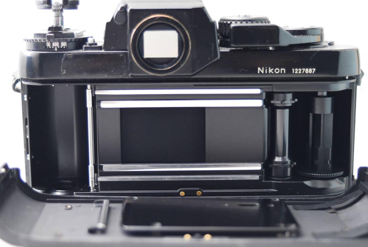 実用品 名機 ニコン Nikon F3 ボディ アイレベル MF-14 SLR フィルム一眼 MF マニュアルフォーカス 返金保証_画像4