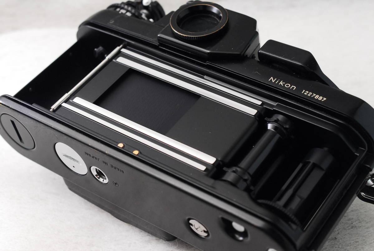 実用品 名機 ニコン Nikon F3 ボディ アイレベル MF-14 SLR フィルム一眼 MF マニュアルフォーカス 返金保証_画像5
