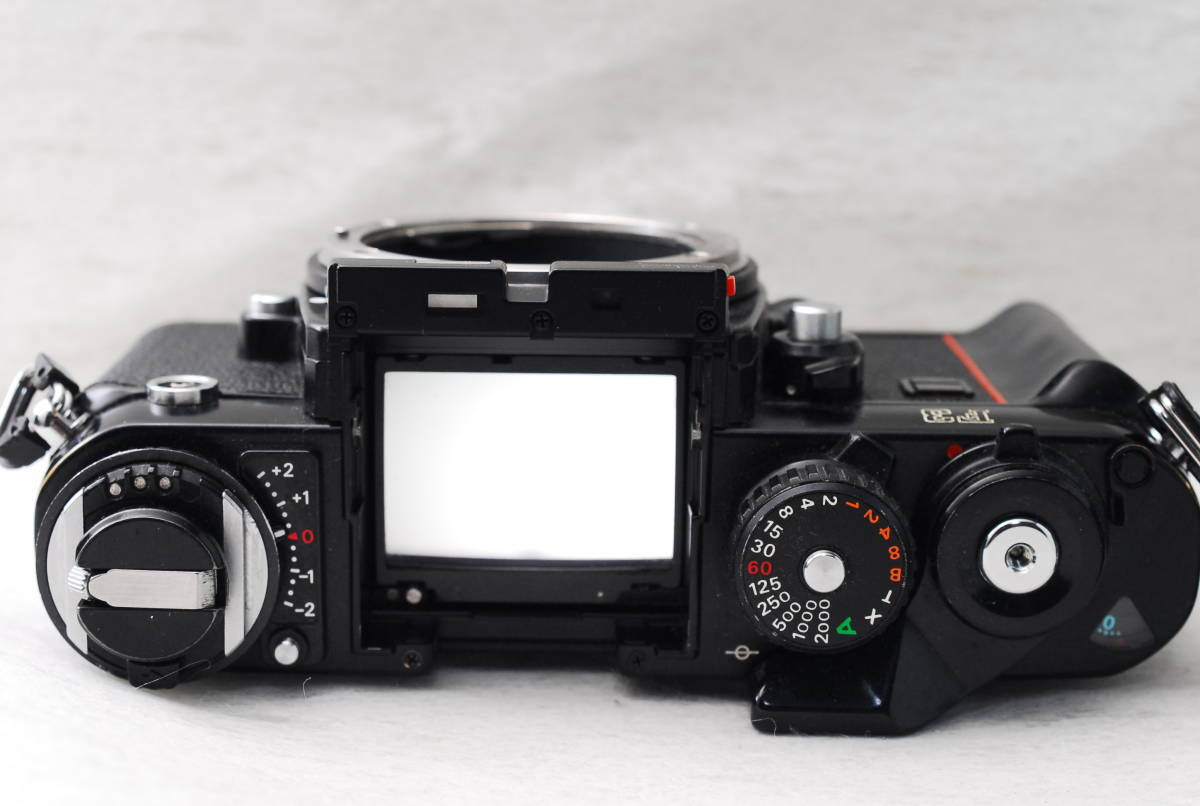 実用品 名機 ニコン Nikon F3 ボディ アイレベル MF-14 SLR フィルム一眼 MF マニュアルフォーカス 返金保証_画像6