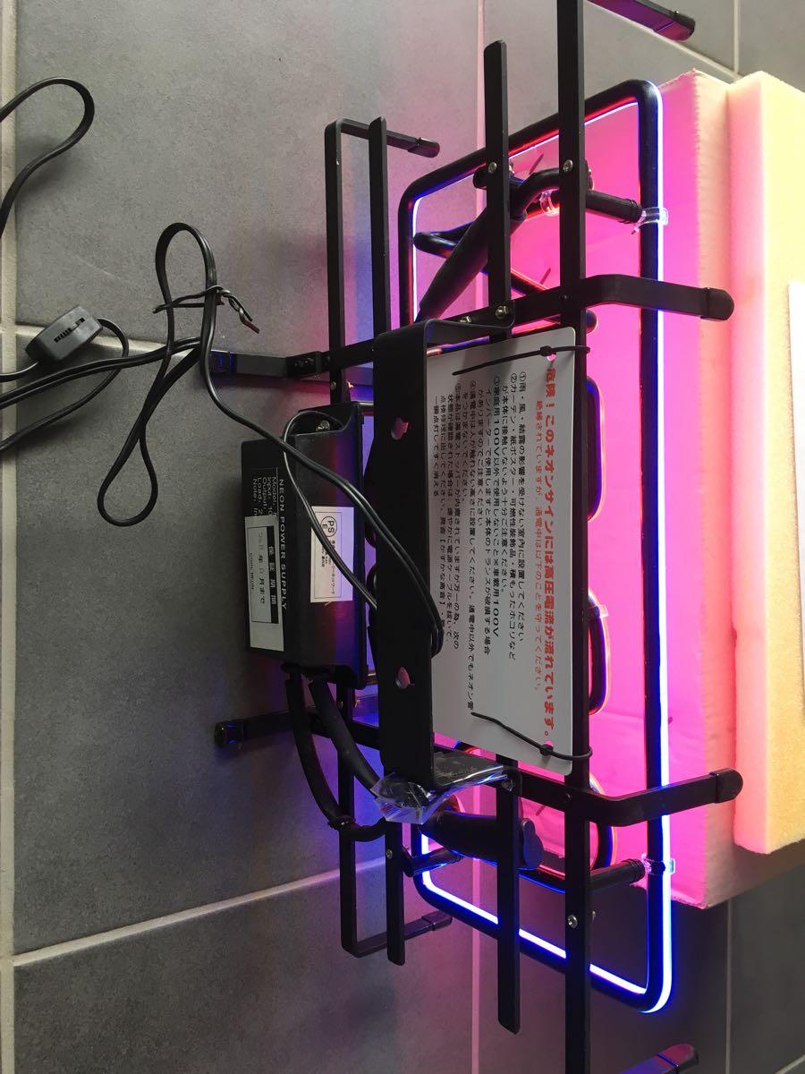 ネオン管 OPEN 店舗 什器 未使用 長期保管品 80年代_画像3