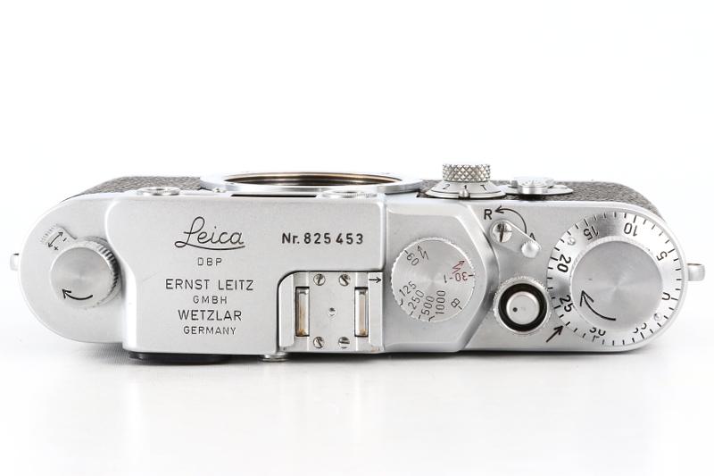 Leica ⅢG DBP ERNST LEITZ GMBH WETZLAR GERMANY ボディ_画像5