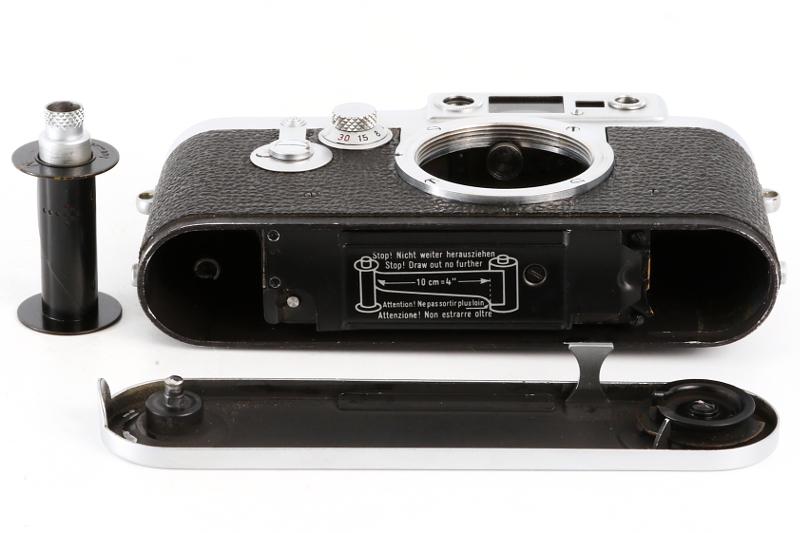 Leica ⅢG DBP ERNST LEITZ GMBH WETZLAR GERMANY ボディ_画像7