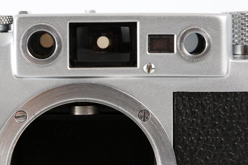 Leica ⅢG DBP ERNST LEITZ GMBH WETZLAR GERMANY ボディ_画像8