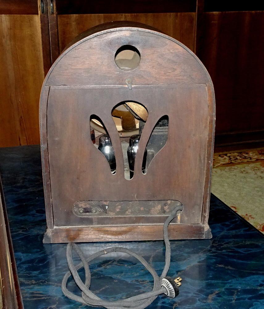 古い真空管式ラジオ/その①_画像3