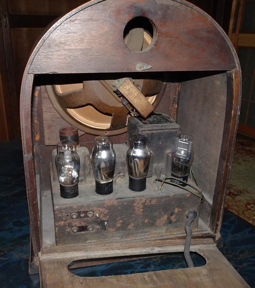 古い真空管式ラジオ/その①_画像4