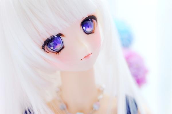 ★ぷりまび★DDH-03セミホワイト肌カスタムヘッド+アイ_画像4