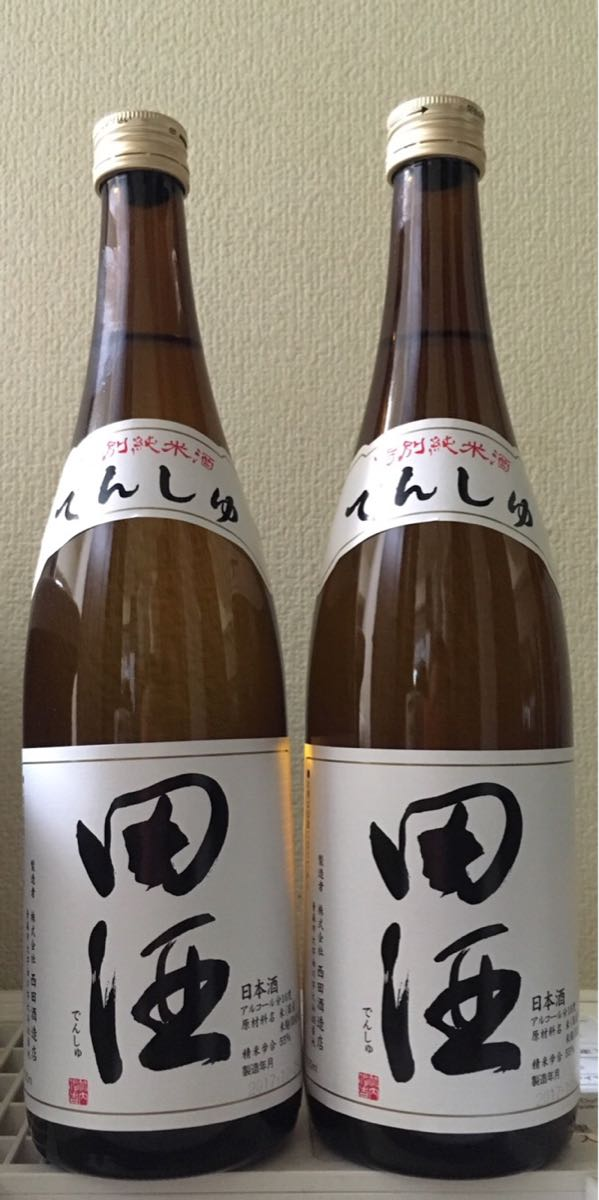 田酒  特別純米酒 720ml 2本セット 2018