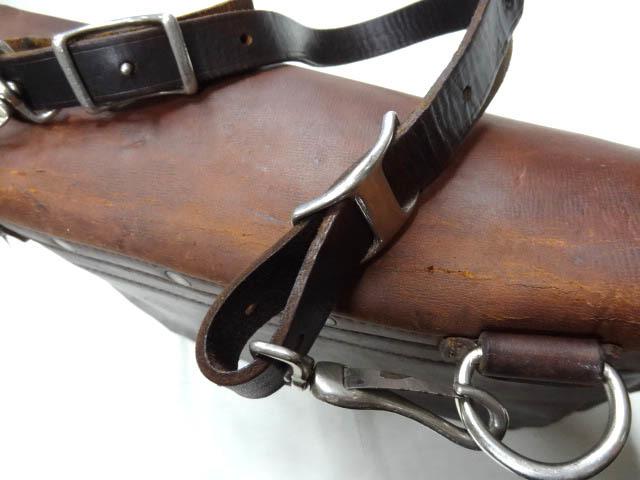 ビンテージ 希少 US レザー メール バッグ 70S グッド コンディション オリジナル ストラップ ポストオフィス 革 鞄 レア 茶 USPS 雰囲気_画像5