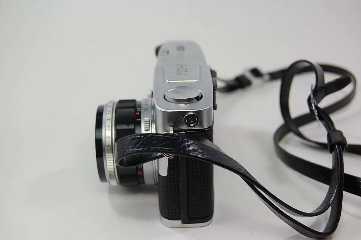OLYMPUS-PEN F+F.Zuiko Auto-S 1:1.8 f=38mm+Olympus Zuiko Auto-zoom 1:3.5 f=50~90mm+専用メーター 花文字 ペンF ハーフカメラ _画像3