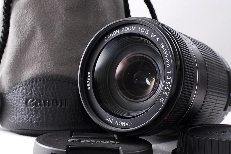 ★美品★Canon キヤノン EFーS 18-135mm F3.5-5.6 IS レンズポーチ付き