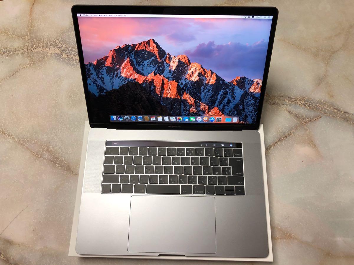 【美品】MacBook Pro 15インチ 2.7GHzクアッドコア Intel Core i7 512GB SSD MLH42J/A
