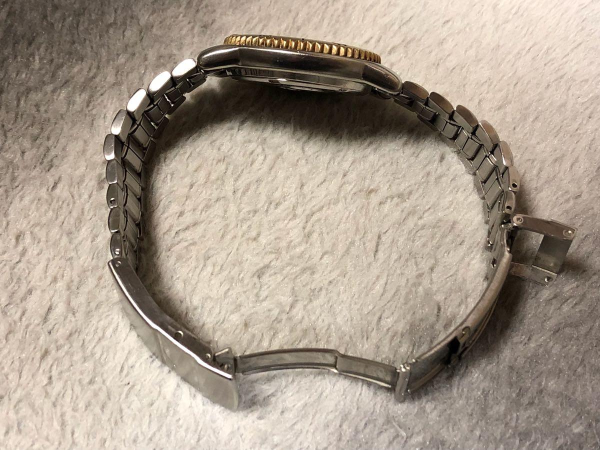 【希少】SEIKO SCUBA 200m セイコー スキューバ ダイバーズ クォーツ 腕時計 5H25-6070【電池交換済み】_画像5