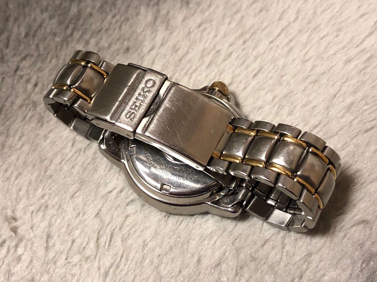 【希少】SEIKO SCUBA 200m セイコー スキューバ ダイバーズ クォーツ 腕時計 5H25-6070【電池交換済み】_画像9