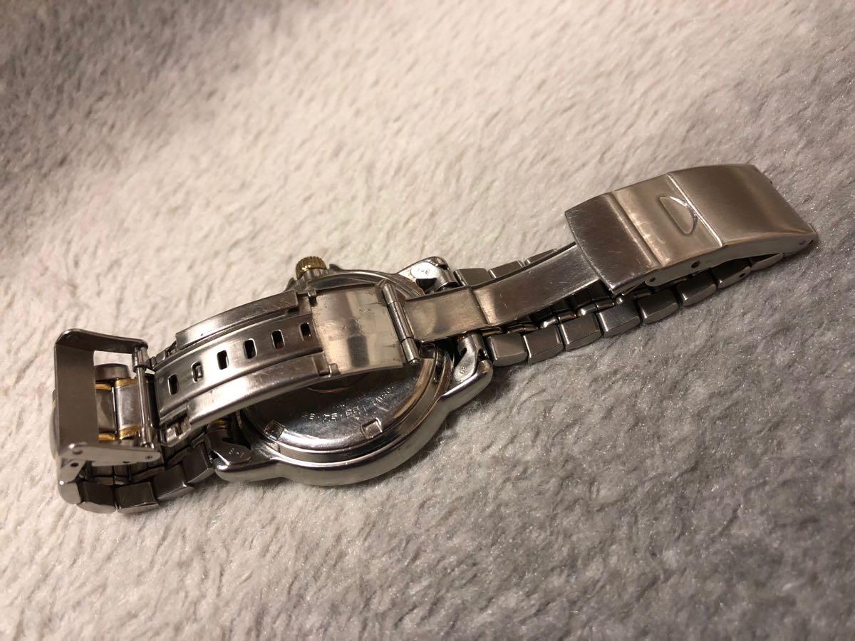 【希少】SEIKO SCUBA 200m セイコー スキューバ ダイバーズ クォーツ 腕時計 5H25-6070【電池交換済み】_画像6