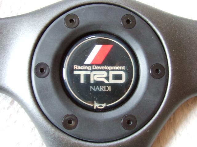 奇跡の新品未使用! NARDIとTRDのコラボ商品 GARA3 36φ コレクターズアイテム デットストック AE86 AA63 ST180 KP61 EP71 AE92 MA70 AW11_画像2