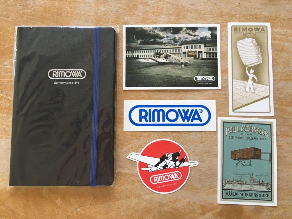リモワ RIMOWA ステッカー 5枚・手帳セット 非売品 ANA