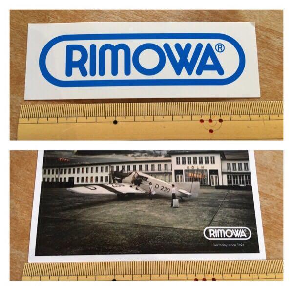 リモワ RIMOWA ステッカー 5枚・手帳セット 非売品 ANA_画像3