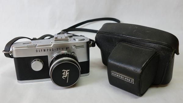 美品☆OLYMPUS PEN-F F.Zuiko Auto-S 1:1.8 f=38mm ハーフサイズ一眼レフカメラ シャッター動作OK オリンパス_画像10