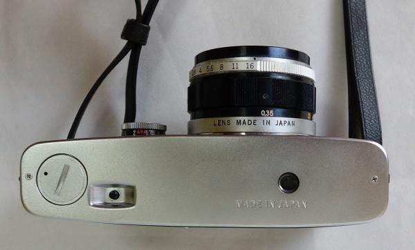 美品☆OLYMPUS PEN-F F.Zuiko Auto-S 1:1.8 f=38mm ハーフサイズ一眼レフカメラ シャッター動作OK オリンパス_画像4