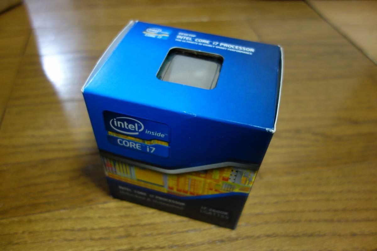 intel CPU Core i7 2600K BOX