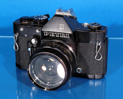 ★PETRI V6 ブラック★ C.C Auto prtri F1.8 55mm ★ジャンク★_画像2