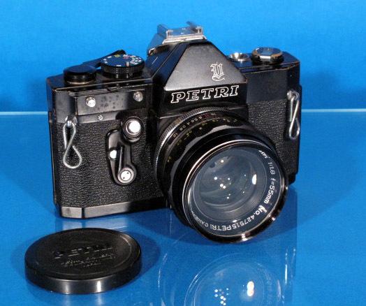 ★PETRI V6 ブラック★ C.C Auto prtri F1.8 55mm ★ジャンク★