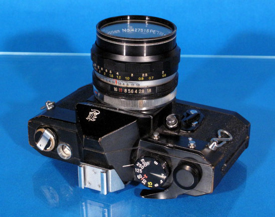 ★PETRI V6 ブラック★ C.C Auto prtri F1.8 55mm ★ジャンク★_画像3