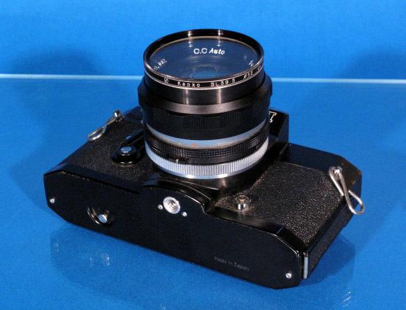 ★PETRI V6 ブラック★ C.C Auto prtri F1.8 55mm ★ジャンク★_画像4