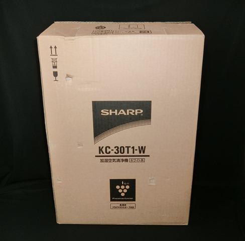 ★未使用★ シャープ SHARP 空気清浄機 【KC-30T1-W】 ホワイト系 2012年製 プラズマクラスター