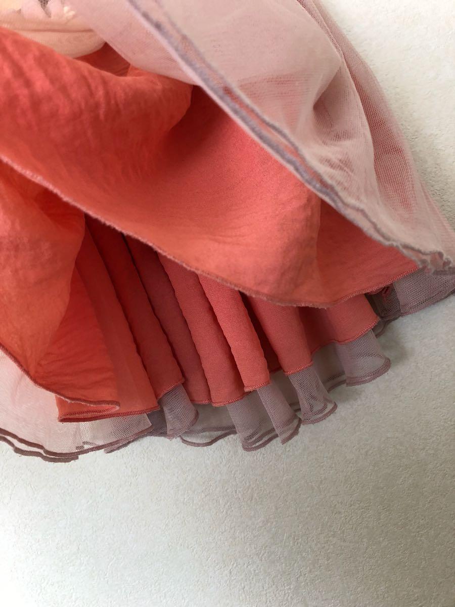 *プティマイン チュール スカート 110.100cm*petit main*_画像3