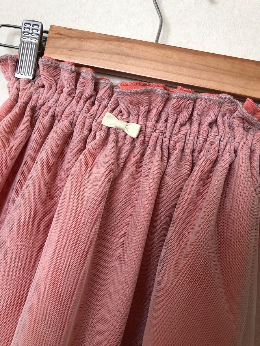 *プティマイン チュール スカート 110.100cm*petit main*_画像2